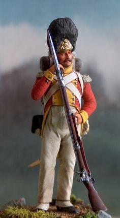 Leib-Grenadier de la Garde, Saxe, 1813.