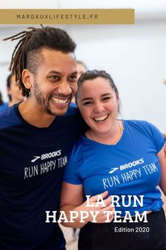 "Je ""Run Happy"" avec Brooks en 2020 - Margaux Lifestyle Laura Lee, Energie Positive, Run Happy, Running Training, Lifestyle, Couple Photos, Finish Line, Runners, Running"