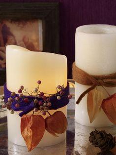 6 DIY-Ideen: Kerzendeko für einen gemütlichen Herbst