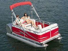 Pedal Pontoon Boat #boatbuilding