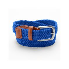 Boys 4-20 IZOD Braided Stretch Belt, Boy's, Size: XL, Med Blue