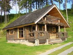 Case Di Montagna In Legno : Case in legno bernard blockhaus case in tronchi ecologiche