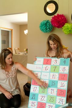 Here Comes Baby: Colourful Craft Baby Shower « Spearmint Baby