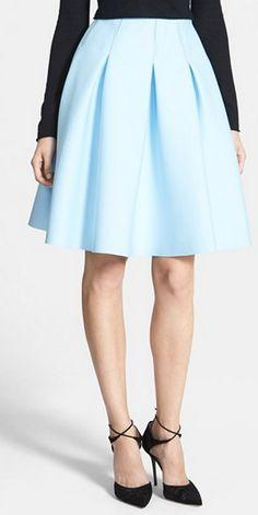 Ice blue skirt http://rstyle.me/n/tx7n2n2bn