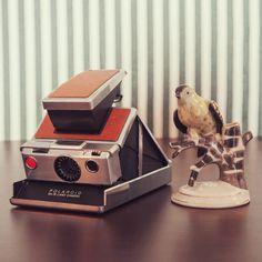 Cámara Polaroid SX70 Rehabilitada por Alan Prodanov A la venta en My Vintage Shoot www.myvintageshoot.com