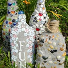 Garden Mosaics From Recycled Materials