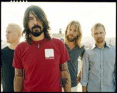 Foo Fighters. Seeing them live? on the top 5 music moments of my life