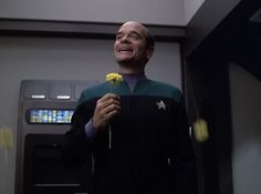 Robert Picardo as the EMH from Voyager.