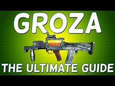 PLAYER UNKNOWN'S BATTLEGROUNDS GROZA - The ULTIMATE GUIDE to this NEW EXCLUSIVE ASSAULT RIFLE! - http://freetoplaymmorpgs.com/battlegrounds-online/player-unknowns-battlegrounds-groza-the-ultimate-guide-to-this-new-exclusive-assault-rifle