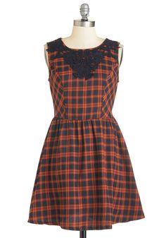 Craft a festive feast in this pretty plaid dress!  multi 0f9bb8a93e7