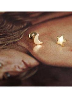 Erica Weiner´s Moon & stars örhängen
