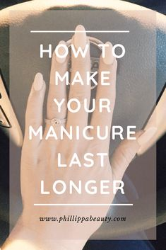 How to make your manicure last longer - How to make your manicure last longer using gel nail polish | Save this pin and click through to read our nail tips on how to create beautiful nail art designs with gel nail polish. Perfect for wedding nails or summer nail art. #nailart #shortnails #nails #shortnailart #summernails #holidaynails #vacationnails #summernailart #summer #creativenailart #makeyourmanicurelast #longlastingnails