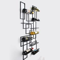 Creative home fashion wrought iron wine rack wall mounted wine rack hanging wine rack bar counter wine cooler-in Theater Furniture from Furniture on Aliexpress.com | Alibaba Group