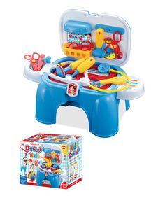 Loving this Portable Play & Carry Doctor Play Set on #zulily! #zulilyfinds