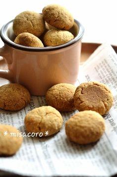 混ぜるだけ!きなこおからクッキー* by *misacoro*さん | レシピ ...