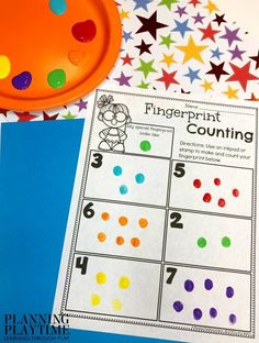 Preschool Counting Activity for All About Me Theme #preschoolactivities #planningplaytime #backtoschool #preschoolworksheets All About Me Eyfs, All About Me Maths, All About Me Crafts, All About Me Art, All About Me Preschool Theme Activities, Preschool About Me, Math Activities, Preschool Activities, Preschool Family Theme