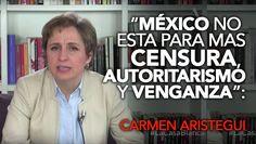 Aristegui Denuncia Persecución Judicial por Libro Casa Blanca