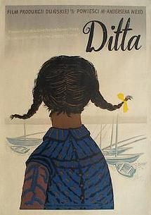 """Ditta"" 1952 Polish move poster by Henryk Tomaszewski for 1946 Danish film ""Ditte"". Children Of Men, Polish Posters, Poster Online, Circus Poster, Original Movie Posters, Graphic Design Illustration, Vintage Posters, Collection, School"