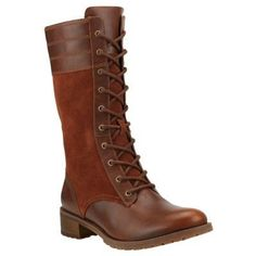 Timberland - Bottes Bethel Heights Mid Zip Lace-Up Femme - Marron