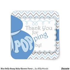 Shop Blue Belly Bump Baby Shower Favor Stickers created by AllbyWanda. Baby Shower Labels, Baby Shower Party Favors, Baby Shower Parties, Pop Baby Showers, Baby Boy Shower, Little Man Shower, Belly Bump, Baby Stickers, Unique Baby Shower