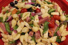 Antipasto Salad for Summer BBQ