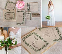 Vintage, Eco, Rustic Wedding Idea