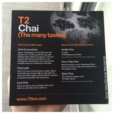 Chai concentrate & variations Iced Tea Recipes, Vanilla Chai, High Tea, Tea Time, Amp, Kitchen, Food, Tea, Cooking