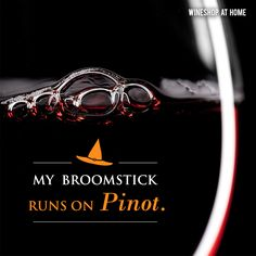 Which wine does your broomstick run on? Contact me today to have plenty of wine for Halloween! And I can suggest candy pairings! Wine Shop At Home, Wine Club Monthly, Wine Meme, Wine Country Gift Baskets, Sweet Wine, Wine Quotes, Cheap Wine, Wine Fridge, Personalized Wine