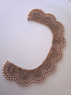 Vintage Pearl Collar Bridal Accessory