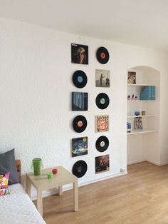 vinyl wall art deco - a house full of music