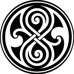 doctor who vinyl decal seal of Rassilon
