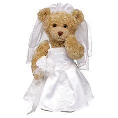 Build A Bear In Wedding Gown Gifts For Party Cute Ideas