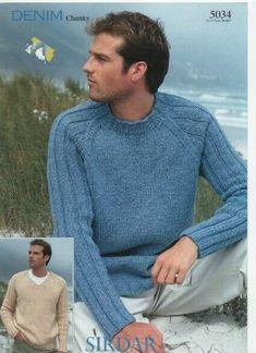 Mens Knit Sweater Pattern, Sweater Knitting Patterns, Sweater Design, Men Sweater, Bone Bordado, Bodybuilding Clothing, Hand Knitted Sweaters, Crochet, Designers