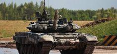 Les chars russes T-90 arrivent en Syrie