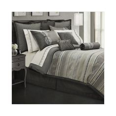 Bundle-50 Lawrence Home Fashions Alessandra Comforter Set