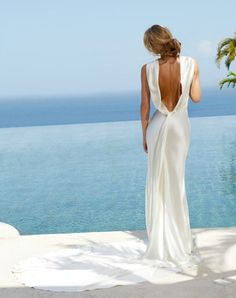 wedding dress; Amanda Wakeley