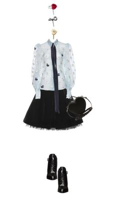 """""""Untitled #2230"""" by misnik ❤ liked on Polyvore featuring Marc by Marc Jacobs, women's clothing, women, female, woman, misses and juniors"""