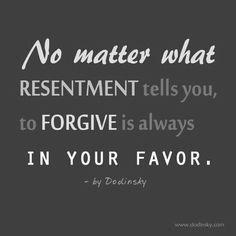 forgive.