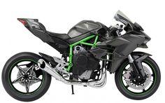 Skynet Aoshima Kawasaki Ninja H2R 1/12 Scale Motorcycle Diecast from Japan #Skynet #KAWASAKI