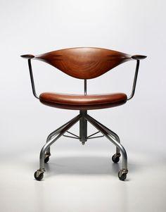 HANS J. WEGNER, task chair model nr.50, made by Johannes Hansen,...