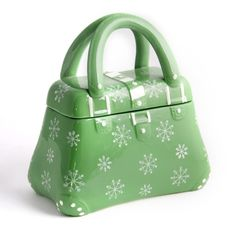 temp-tations® by Tara: temp-tations® Snowflake Hand Bag Cookie Jar