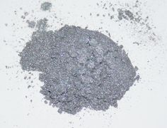Pale Silver Cosmetic Grade Mica Powder, silver,eye shadow, bath bombs, resin jewelry, soap, candle,nailpolish, gray, pigment, neutral, metal by MorgansCornerShop on Etsy