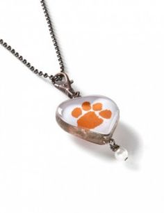 Clemson necklace! Want to make.