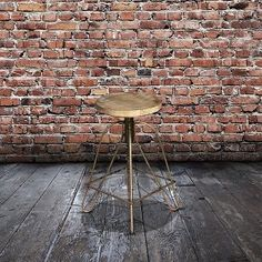 Charming bar stools. #Recycled