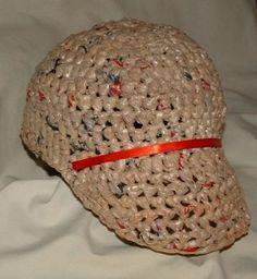 plarn baseball hat