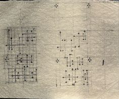 Eames. Dot Pattern Fabric - Design Drawing/Sketch. Via #thingsorganizedneatly