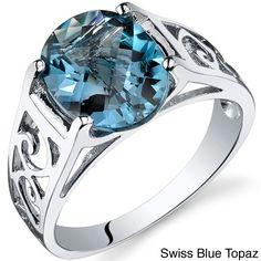 <li>Amethyst, garnet, blue topaz, ruby, pink sapphire or alexandrite ring <li>Sterling silver jewelry <li><a href='http://www.overstock.com/downloads/pdf/2010_RingSizing.pdf'><span class='links'>Click here for ring sizing guide</span></a>