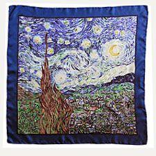 Gotta love Van Gogh scarf.