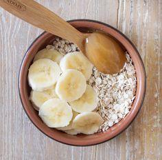 natural beauty: oatmeal, honey and banana scrub mask | deliciously ella