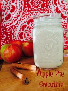 Apple Pie Smoothie by Monica Hoss Nutrition